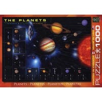 Planets 1000 Piece Puzzle, 1,000 Piece Puzzles by Eurographics