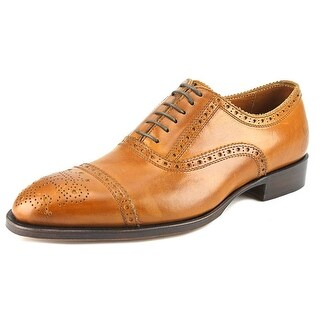 John Fluevog Brandenburg Cap Toe Leather Oxford