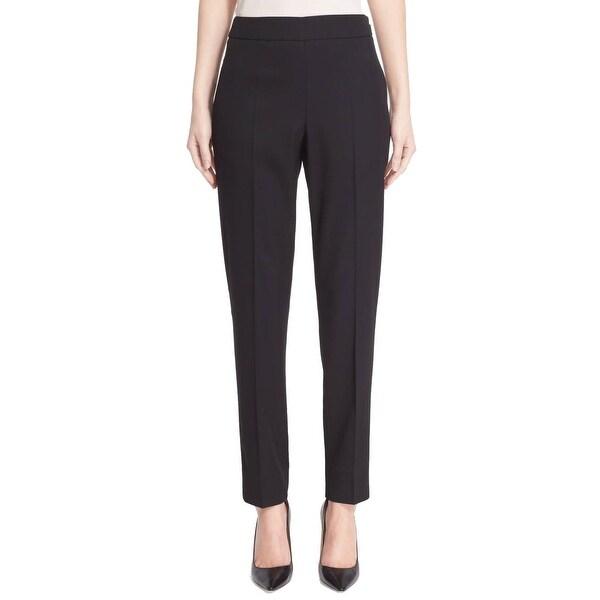 8e9d53d01d5d Shop Oscar de la Renta NEW Solid Black Women's Size 4 Wool Dress ...