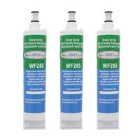 Replacement Water Filter For Whirlpool 4396509 Refrigerator Water Filter by Aqua Fresh (3 Pack)