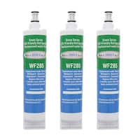 Replacement Water Filter For Whirlpool NL240 Refrigerator Water Filter by Aqua Fresh (3 Pack)