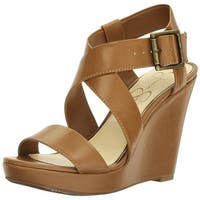 Jessica Simpson Womens joilet Open Toe Casual Ankle Strap Sandals
