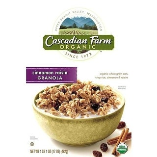Cascadian Farm BG11290 Cascadian Farm Oats & Honey Granola - 6x16OZ