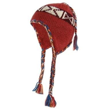 American Rag Women's Tribal Print Knit Winter Trapper Hat - One Size