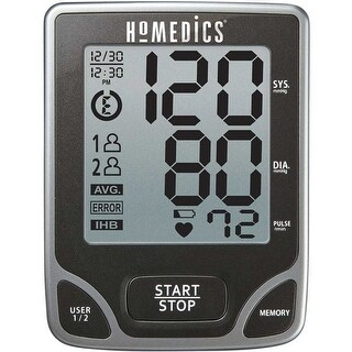 Homedics bpa-065 arm blood pressure monitor