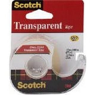 Scotch Transparent Tape with Dispenser, 0.5 x 1000 in.