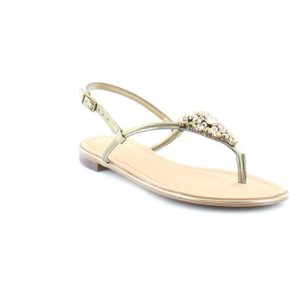 Isaac Mizrahi Live! Rady3 Women's Sandals & Flip Flops Gold