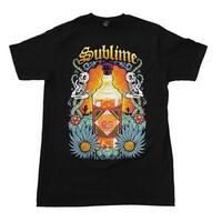 Sublime Sun Bottle Soft T-Shirt - black