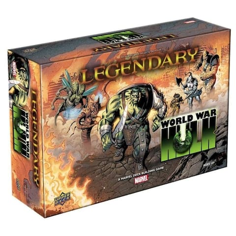 Legendary: World War Hulk Deck Building Game