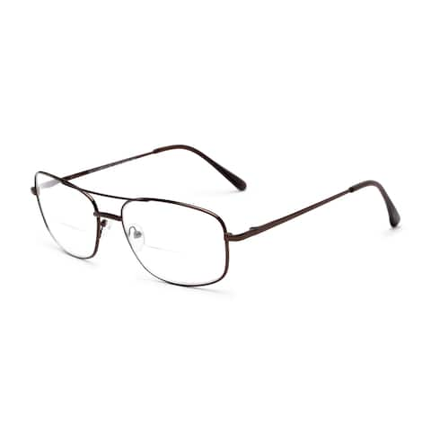 Readers.com The Stenson Bifocal Aviator Reading Glasses