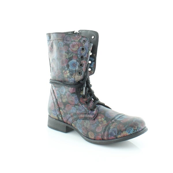 43a9156bd3b Shop Steve Madden Troopa Women s Boots Floral - Free Shipping Today ...