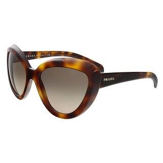 Prada PR08RS TKR3D0 Havana Cateye Sunglasses