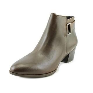 Alfani Adisonn Round Toe Leather Bootie