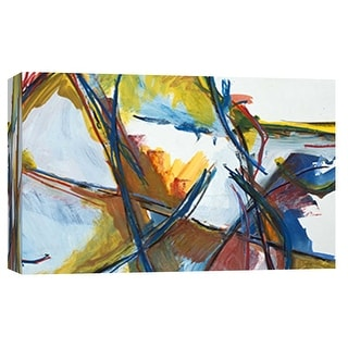 "PTM Images 9-101809  PTM Canvas Collection 8"" x 10"" - ""Meadows"" Giclee Abstract Art Print on Canvas"