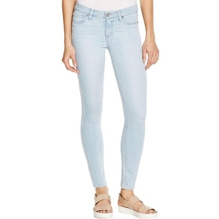 Paige Womens Verdugo Ankle Jeans Denim Button-Zip Fly
