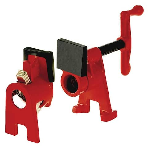 Bessey BPC-H34 H-Style Pipe Clamp, 3/4""