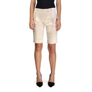 Prada Women's Silk Shorts Copper