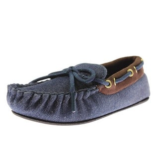 Trimfit Boys Moccasins Little Kid Canvas - 11-12 medium (d)