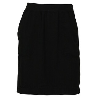 Studio M Women's Solid Color Mini Skirt
