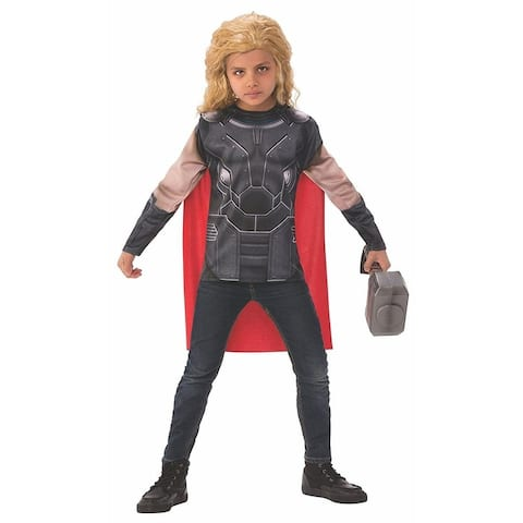 Thor: Ragnarok Thor Costume Top Child - Black