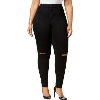Jessica Simpson Womens Plus Skinny Jeans Denim High Waist