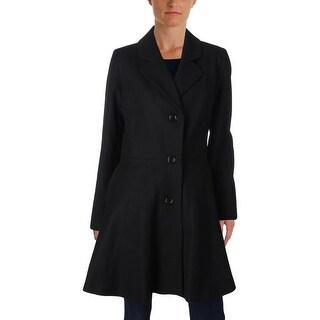 CeCe Womens Pea Coat Fall Wool