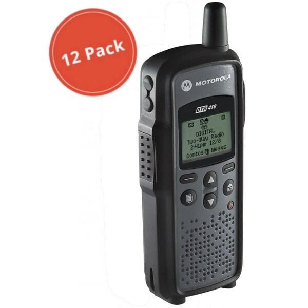 Motorola DTR410 (12 Pack) Digital 2-Way Radio