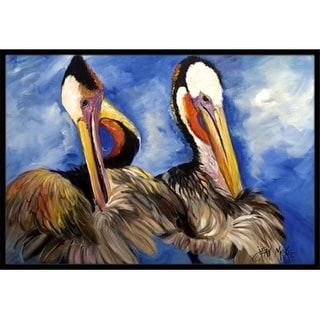 Carolines Treasures JMK1022MAT Pelican Brothers Indoor & Outdoor Mat 18 x 27 in.