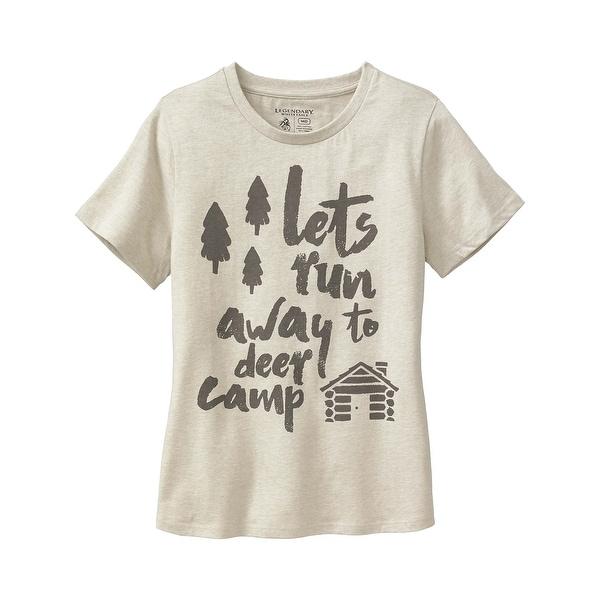 Legendary Whitetails Ladies Deer Cap Huntin' Wish List Short Sleeve T-Shirt
