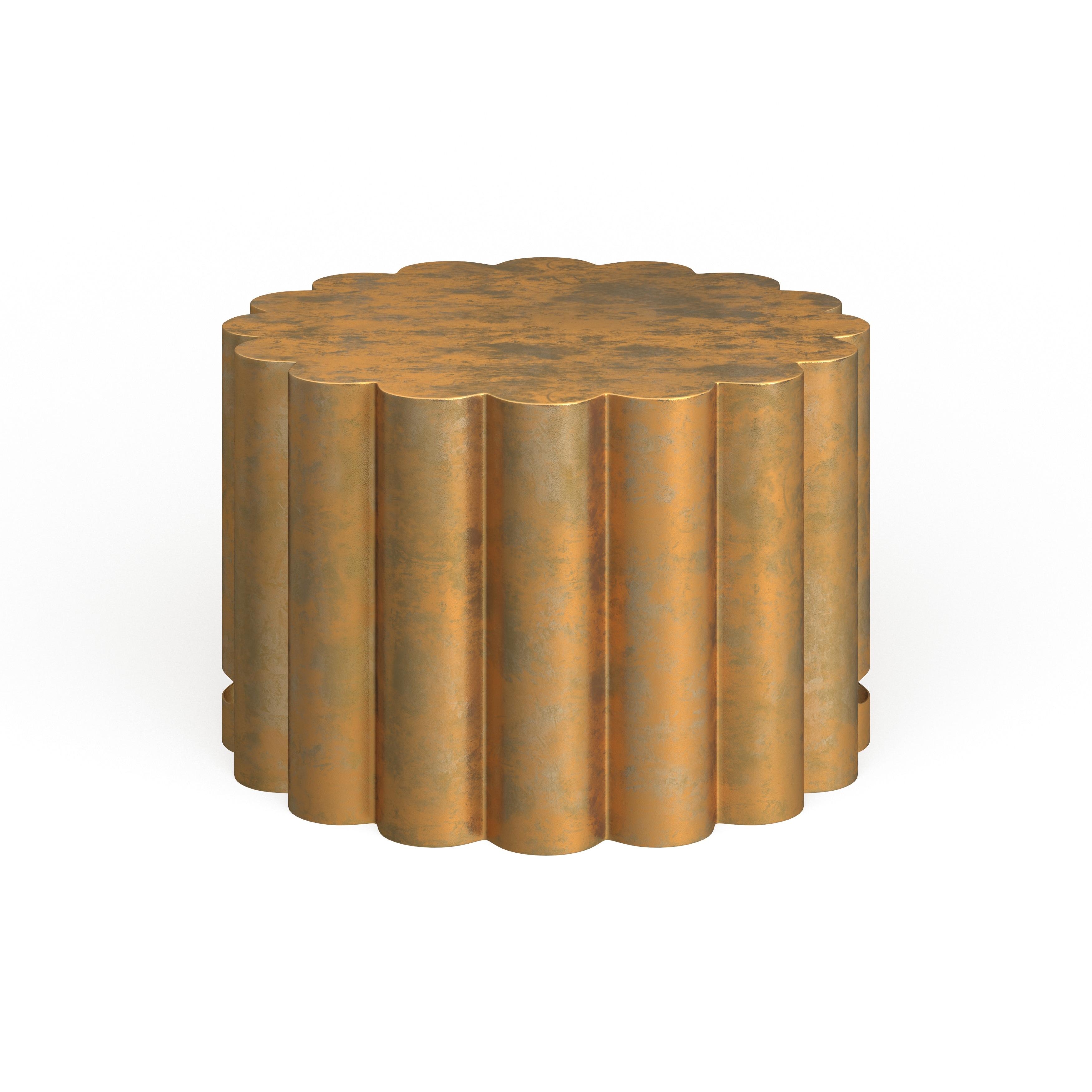 Safavieh Miriam Gold Drum Coffee Table 28 X 28 X 15 On Sale Overstock 11408266