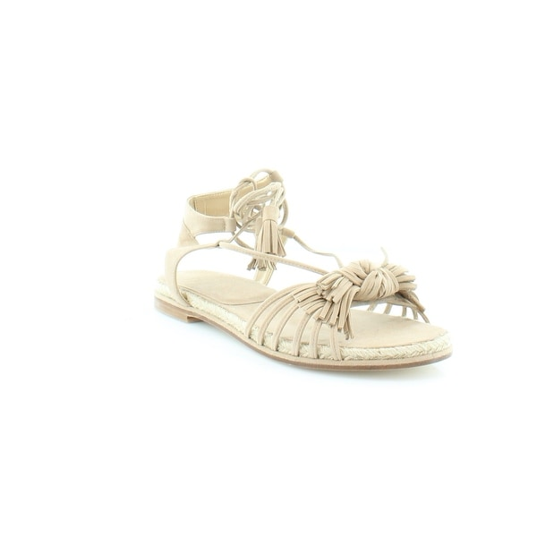 Stuart Weitzman Flowerpot Women's Sandals & Flip Flops Cashew - 6