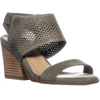 Dr. Scholls Jasmin Block Heel Perforated Sandals, Willow - 7.5 us / 37.5 eu