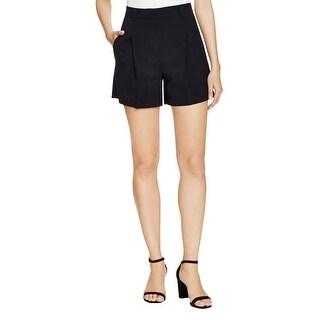 DKNY Womens Dress Shorts Woven Pleated