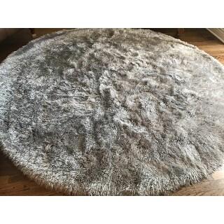 Safavieh Handmade Venice Shag Djenka Solid Polyester Rug