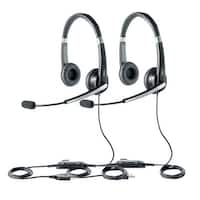 Jabra UC Voice 550 Duo Stereo Corded Headset w/ Noise Reduction System (2 Pack)