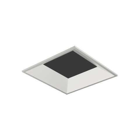 "Tech Lighting EN3SLB-O Entra 3"" Square Flangeless Bevel Recessed Trim"