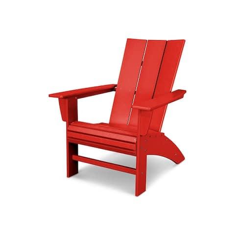 POLYWOOD? Modern Curveback Adirondack Chair