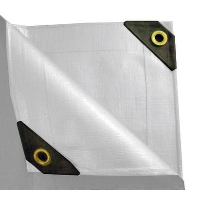 12 x 30 Heavy Duty Canopy Tarp - White