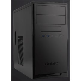 Antec Case NSK3180 New Solution Mini Tower 2/1/(2) USB Black 80PLUS BRONZE 380W microATX