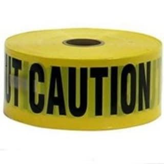 CH Hanson 16000 Tape Caution, 1000 Ft