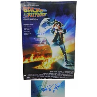 Michael J Fox Back To The Future 24x36 Movie Poster