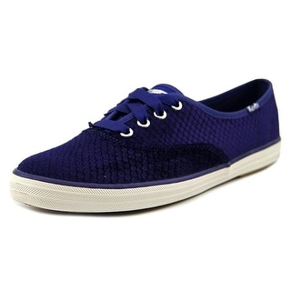 Ked's Women's Champion Embossed Velvet Sneaker