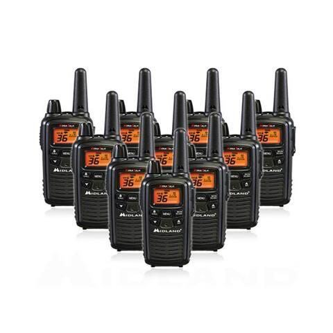 Midland LXT600VP3 Xtra Talk,36 Channels 2 -Way Radio(10 PK)