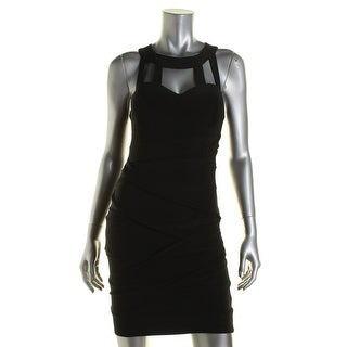 B. Darlin Womens Juniors Party Dress Strappy Cut-Out
