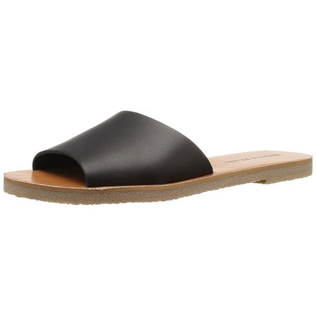 Lucky Brand Womens Dorian Open Toe Casual Slide Sandals