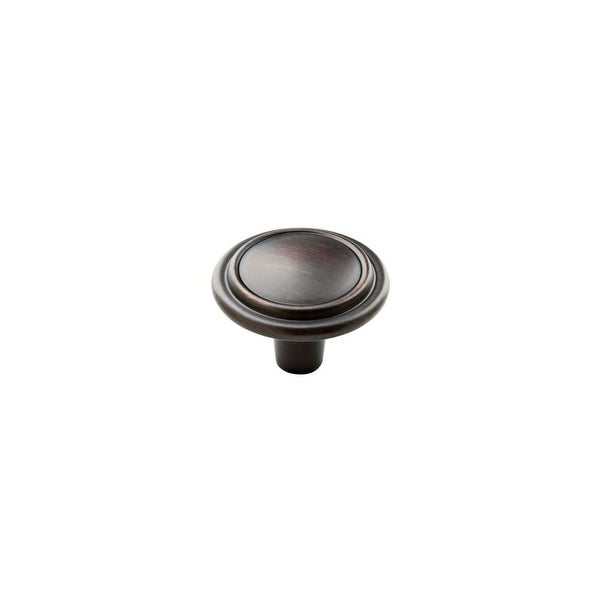 Amerock BP29113 Allison Value Hardware 1-1/4 Inch Diameter Mushroom Cabinet Knob