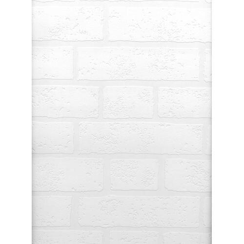 Brewster 497-99423 Belden Paintable Brick Texture Wallpaper