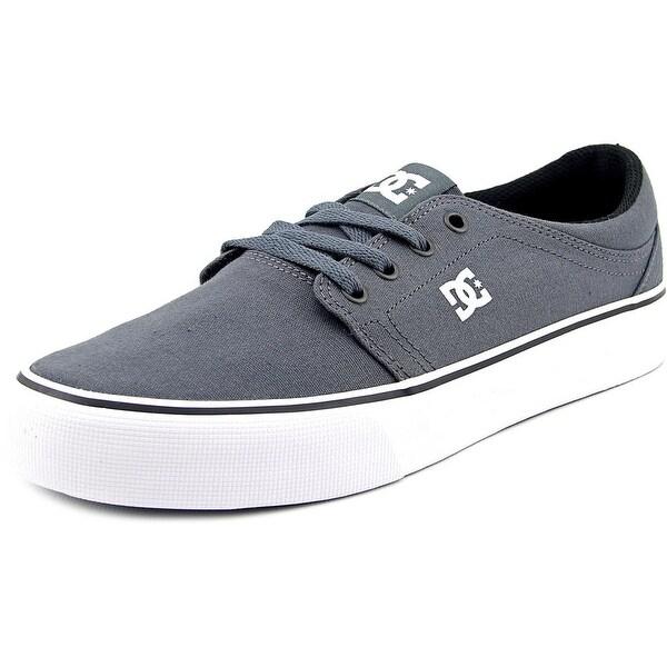 DC Shoes Trase TX Men Round Toe Canvas Gray Skate Shoe