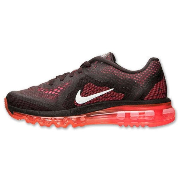 Shop Nike Womens Air Max 2014 Fabric Low Top Lace Up Running