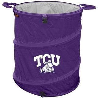 Logo Brands 215 35 19 T X 16 Dia Texas Christian University TCU Trash Can Cooler